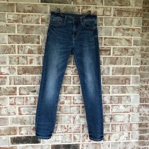 AE Medium Wash Skinny Jeans Sz 30x30